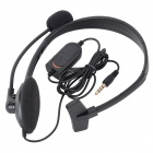 Wired Gaming Headset Earphone w/ MIC Volume Control for PS4 - Black