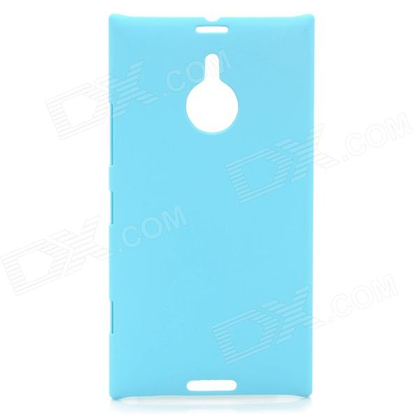 Protective Matte Plastic Back Case for 6 Nokia Lumia 1520 - Light Blue nillkin protective plastic back case w screen protector for nokia lumia 630 golden