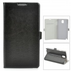Stylish Protective PU Leather Case for Samsung Galaxy Note 3 N9000 - Black