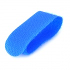 Universal Nylon Velcro Band Cable Ties - Blue (10 PCS)