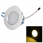 Buy LetterFire 5W 360lm 3000K 5-LED Warm White Ceiling Lamp - + Silver (AC 85~265V)