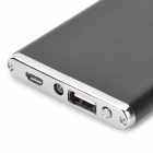 "Ultrathin ""5600mAh"" Power Bank Charger w/ Flashlight for IPHONE -Black"