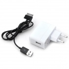 Удобный ЕС Plug Power Adapter + кабель для Samsung Galaxy Note 10.1 N8000 / N5100 / N5110