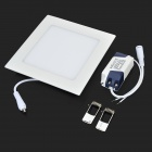 LSON 9W 450lm 6000K 45-2835 SMD LED White Light Panel Lamp - White (AC 85~265V)