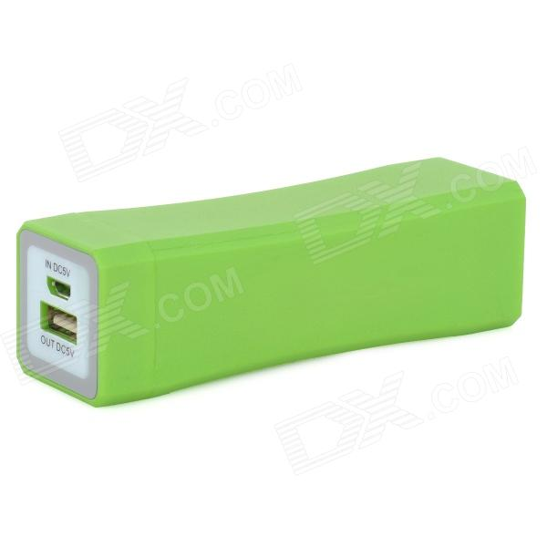 все цены на 3600mAh 3.7V Portable External Battery Charger w/ LED Indicator for IPhone + Samsung + More - Green