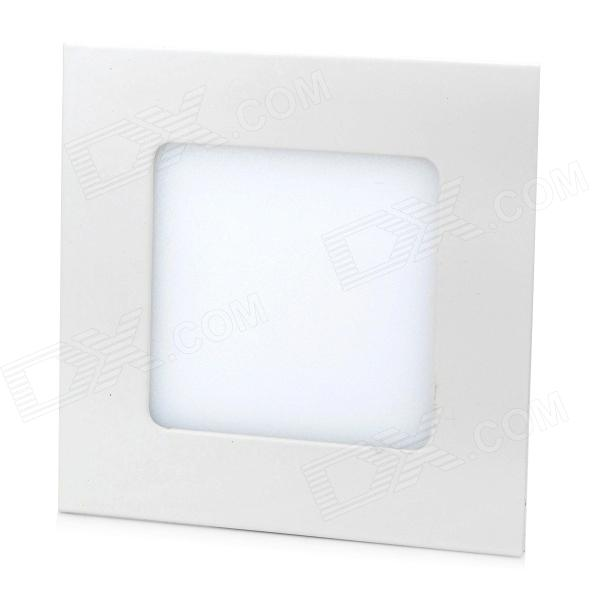 купить LSON G-006 6W 300LM 6000K White Light 2835 SMD LED Thin Square Panel Lamp (85~265V) недорого
