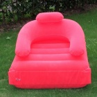XinXin Flocking Inflatable Sofa Bed - Red