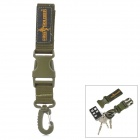 Free Soldier FS-KK01 Outdoor Quick-release Keychain - Army Green