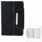"Universal Protective PU Leather Case for 7"" Tablet PC - Black"