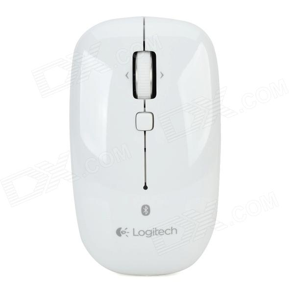 Logitech M558 Bluetooth v3.0 1000dpi Mouse Supports Mac OS System - White (2 x AA)