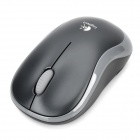 Logitech M185 2.4GHz Wireless 1000dpi Optical Mouse - Black + Grey (1 x AA)