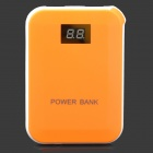 "XY-F4 ""12000mAh"" Power Bank w/ Digits Display for IPHONE / IPAD / Cell Phone / MP3 - Orange"