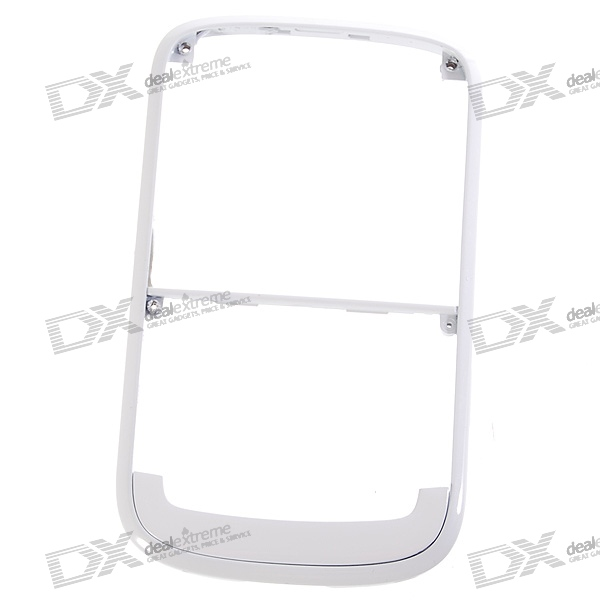 Repair Parts Replacement Side Frame for Blackberry D9000 (White)
