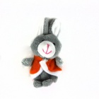 Cute Puzzle Doll Story Finger Three Small Gray Rabbit Set - Grey