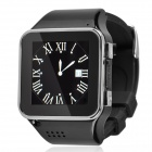 "S2 GSM Touch Watch Phone w/1.54"" Capacitive Screen, Bluetooth and FM - Black + Silver"