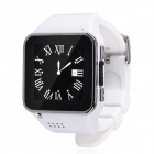 Buy S2 GSM Touch Watch Phone w/1.54 inch Capacitive Screen, Bluetooth FM - White + Silver