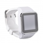 "S2 GSM Touch Watch Phone w/1.54"" Capacitive Screen, Bluetooth and FM - White + Silver"