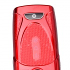 "SANLONG W2014 Hand Cranking Power GSM Bar Phone w/ 2.5"" / Bluetooth / Flashlight / TV - Red"