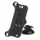 H60 360 Degree Rotation Holder Mount Bracket w/ Suction Cup for Samsung NOTE 2 N7100 - Black