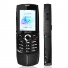 "SANLONG W2014 Hand Cranking Power GSM Bar Phone w/ 2.5"" / Bluetooth / Flashlight / TV - Black"