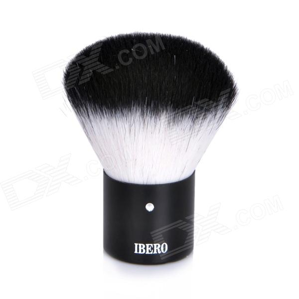 Cleanmate ibero Professional Cosmetic Foundation Make-Up Soft Brush - Black + White