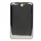 "T-108 ""10000mAh"" Dual USB Mobile Power Source Banque pour iPhone / téléphone portable + Plus - Silver Black +"