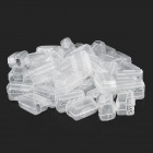 Plastic Toothbrush Head Case (50 PCS)