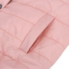 YLY-DSD217-9517 Fashion Polyester Warm Short Coat for Women - Pink (XL)