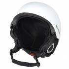 Moon MS-90 Professional Outdoor Skiing Helmet - White + Black (Size M)
