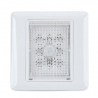 DJD 2W 5lm 6500K 8-LED White Light Sensing Wall Lamp - White (AC 180~240V)