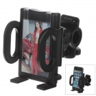 M01 360 Degree Rotation Bracket w/ C38 Back Clamp for Mobile Phone - Black