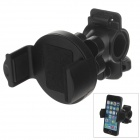 M01 360 Degree Rotation Bracket w/ C46 Back Clamp for Mobile Phone - Black