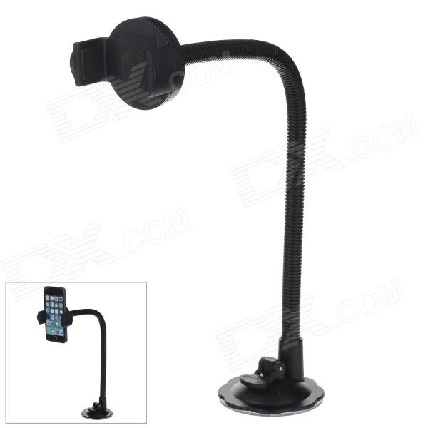 H39+C46 360 Degree Rotation Flexible Universal Holder Mount w/ Suction Cup - BlackGPS Holders<br>Easy to install and convenient to use; Made of rigid plastic durable; universal holder<br>