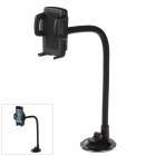 H39+C47 360 Degree Rotation Flexible Universal Holder Mount w / Suction Cup - Black