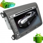 "LsqSTAR 8"" Android 4.0 Car DVD Player w/ GPS,RDS,WiFi,PIP,SWC,Radio,AUX,3DUI,Can Bus Honda Civic"