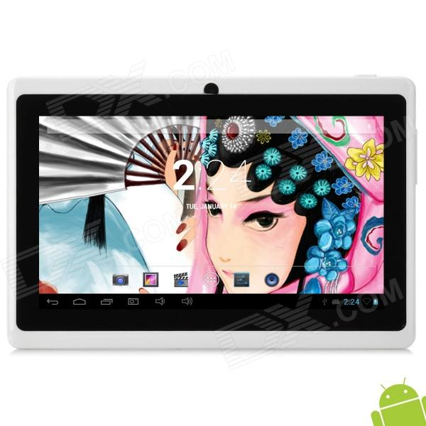 "BENEVE ARMM7D 7"" android 4.2 dual core Tablet PC w / 512MB RAM / 8GB ROM - white"