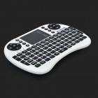 Wireless 2.4G USB 2.0 92-key Keyboard Air Fly Mouse - White + Black (2 x AAA Not Included)