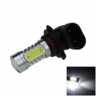 9005 / HB3 7.5W 500lm 5-LED White Light Car Foglight / Headlamp / Tail Light (12~24V)