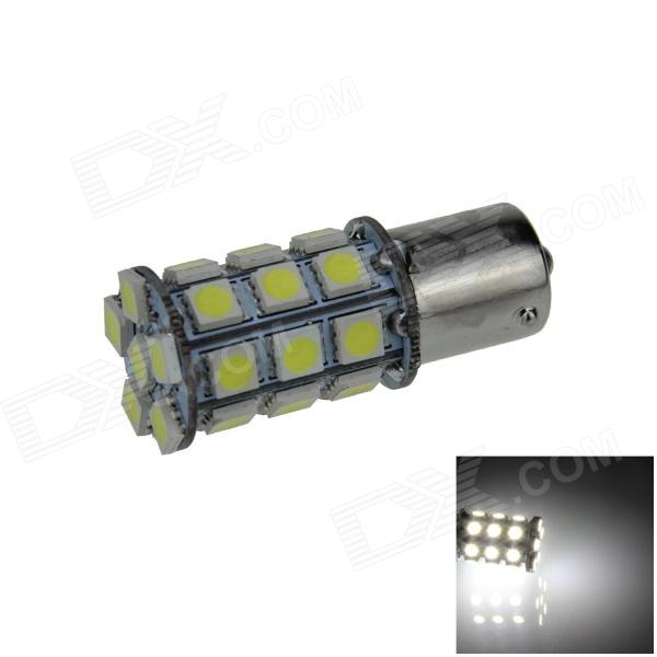 1141 / BA15S / 1156 6W 540lm 27 x SMD 5050 LED White Car Signal Light / Steering Lamp (12V)