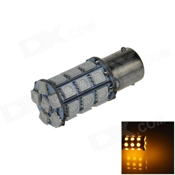 1141 / BA15S / 1156 6W 540lm 27 x SMD 5050 LED Yellow Car Signal Light / Steering Lamp (12V)