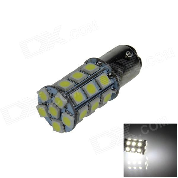 1157 / BAY15D 6W 540lm 27 x SMD 5050 LED White Car Backup Light / Brake Lamp / Signal light (12V)