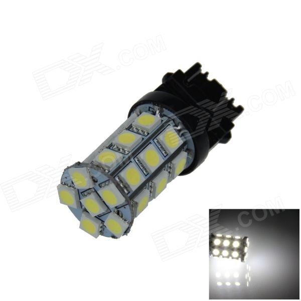 3157 / 3156 6W 540lm 27 x SMD 5050 LED White Car Steering / Brake / Backup / Tail Lamp (12V) 115750 13w 1157 2 3w 250lm 13 smd 5050 led white car steering brake tail backup lights
