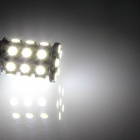 3157 / 3156 6W 540lm 27 x SMD 5050 LED White Car Steering / Brake / Backup / Tail Lamp (12V)