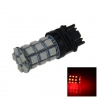 3157 / 3156 6W 540lm 27 x SMD 5050 LED Red Car Steering / Brake / Backup / Tail Lamp (12V)