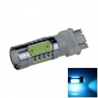 3157/3156 7,5 W 500lm 5-LED Ice Blue Car Brake / Backup / Spiegeln / Lenkung-Licht-Lampe (12 ~ 24V)