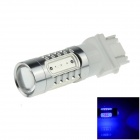 3157 / 3156 7.5W 500lm 5-LED Blue Car Brake / Backup / Reversing / Steering Light Lamp (12~24V)