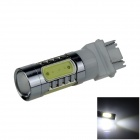3157 / 3156 7.5W 500lm 5-LED White Car Brake / Backup / Reversing / Steering Light Lamp (12~24V)