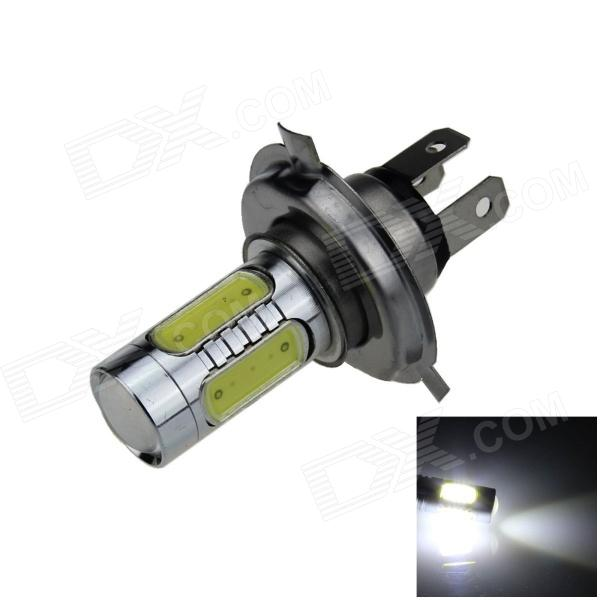 H4 7.5W 500lm 5-LED White Light Car Foglight / Farol / Luz Traseira (12 ~ 24V)