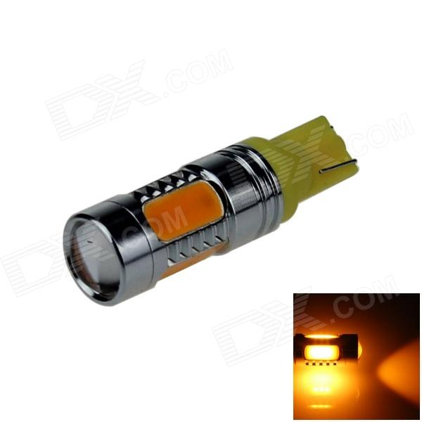 T10 / 194 / 168 / W5W 7.5W 500lm 5-LED Orange Car Steering Light / Tail Light / Headlamp (12~24V)