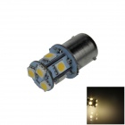 BA15S / 1156 / G18 2W 160lm 8 x SMD 5050 LED Warm White Car Signal Light / Steering Lamp (12V)